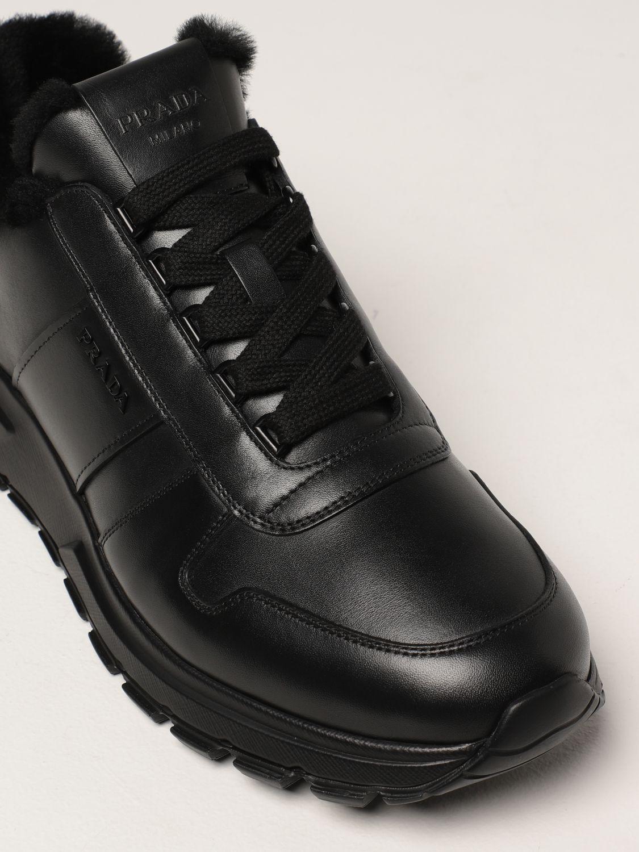Sneakers Prada: Sneakers PRAX 01 Prada in pelle nero 4