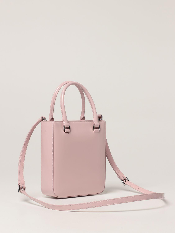 Borsa mini Prada: Borsa Prada in pelle spazzolata rosa 2
