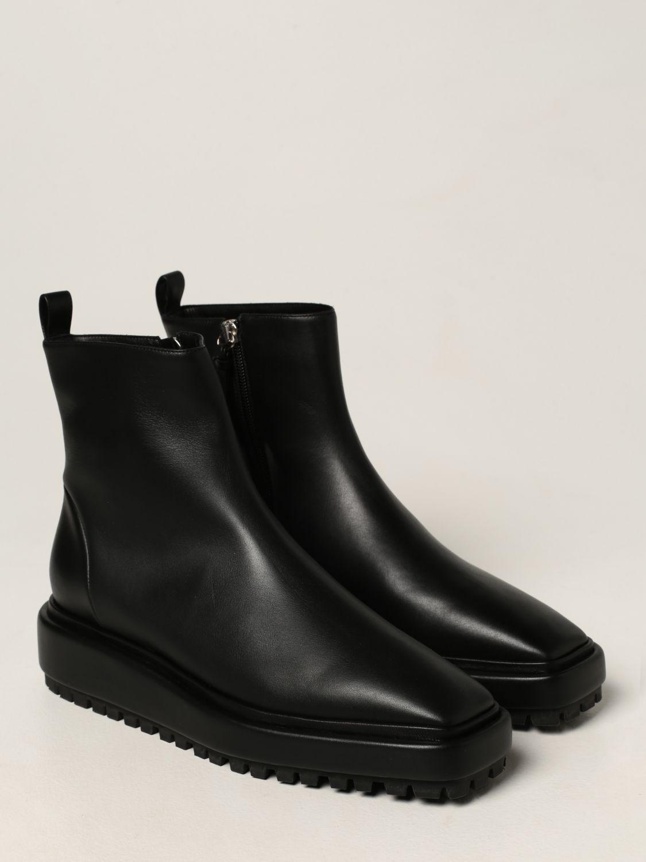 Flat booties Rodo: Rodo ankle boot in calfskin black 2
