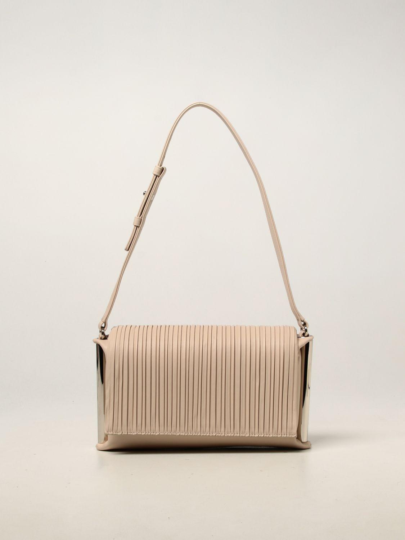 Shoulder bag Rodo: Agnese Rodo bag in nappa leather yellow cream 1