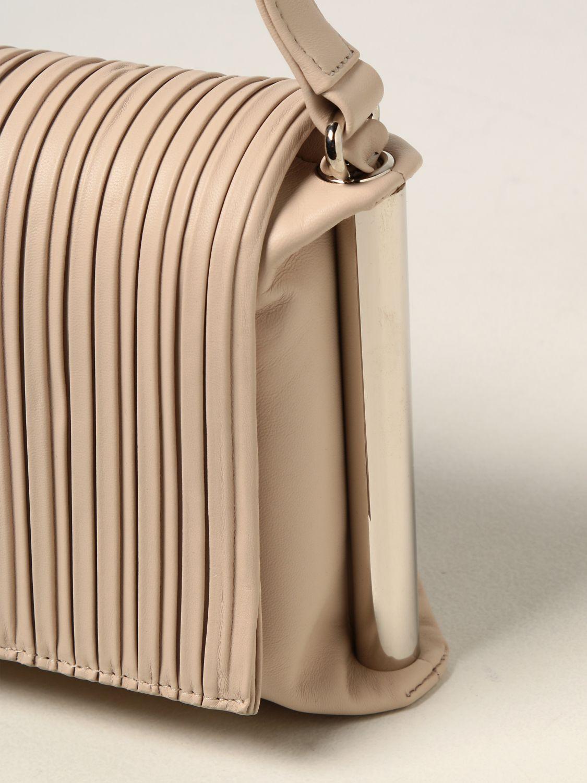 Shoulder bag Rodo: Agnese Rodo bag in nappa leather yellow cream 3