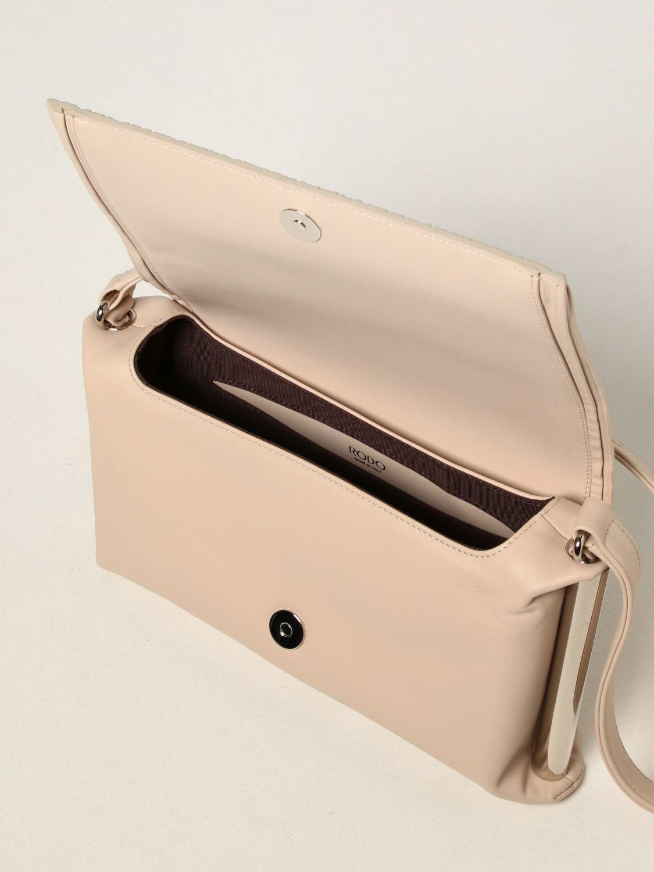 Shoulder bag Rodo: Agnese Rodo bag in nappa leather yellow cream 4