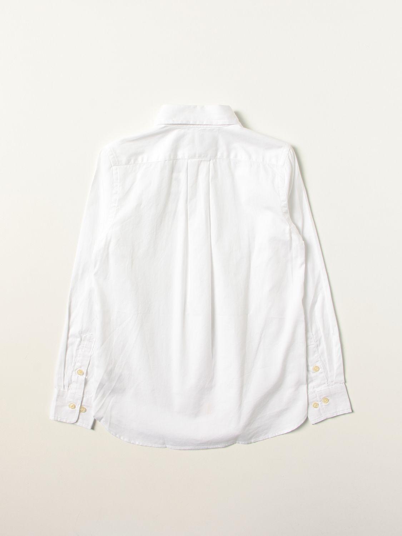 Рубашка Polo Ralph Lauren: Рубашка Детское Polo Ralph Lauren белый 2