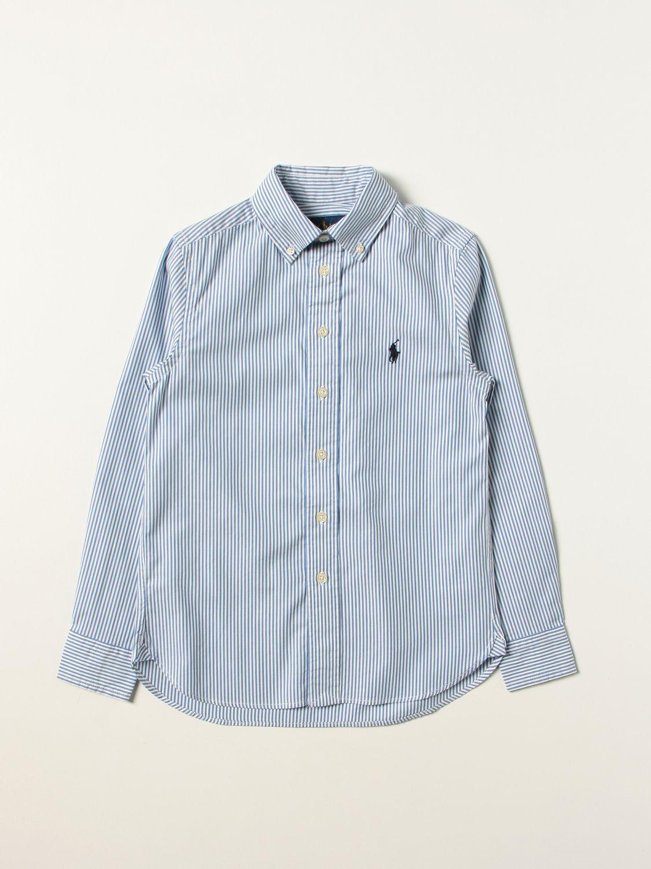 Shirt Polo Ralph Lauren: Shirt kids Polo Ralph Lauren sky blue 1
