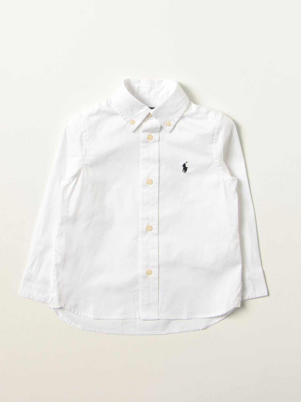 Shirt Polo Ralph Lauren: Shirt kids Polo Ralph Lauren white 1