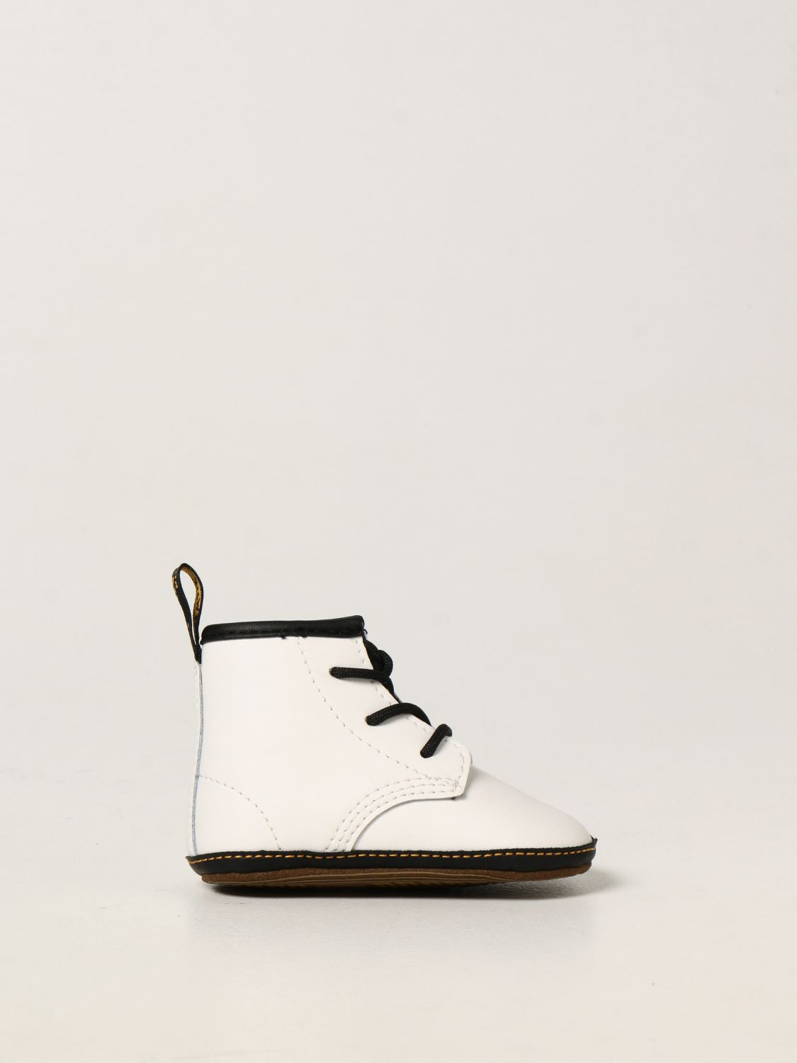 Shoes Dr. Martens: 1460 Dr. Martens shoe in smooth leather white 1