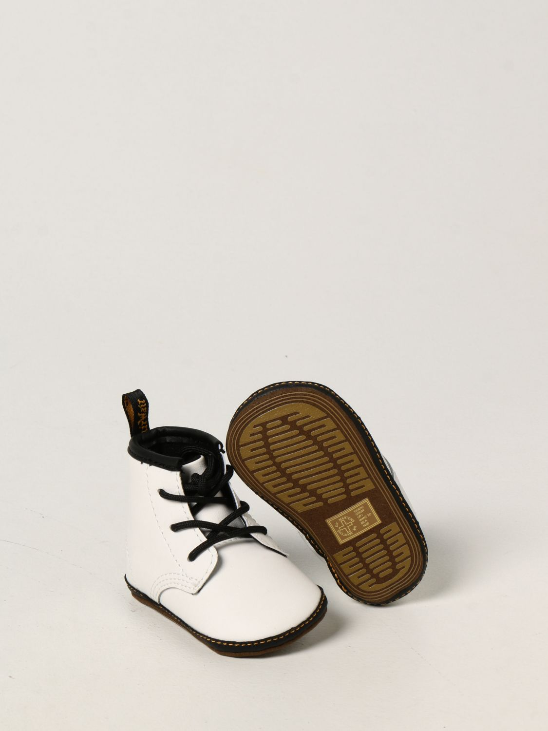 Shoes Dr. Martens: 1460 Dr. Martens shoe in smooth leather white 2
