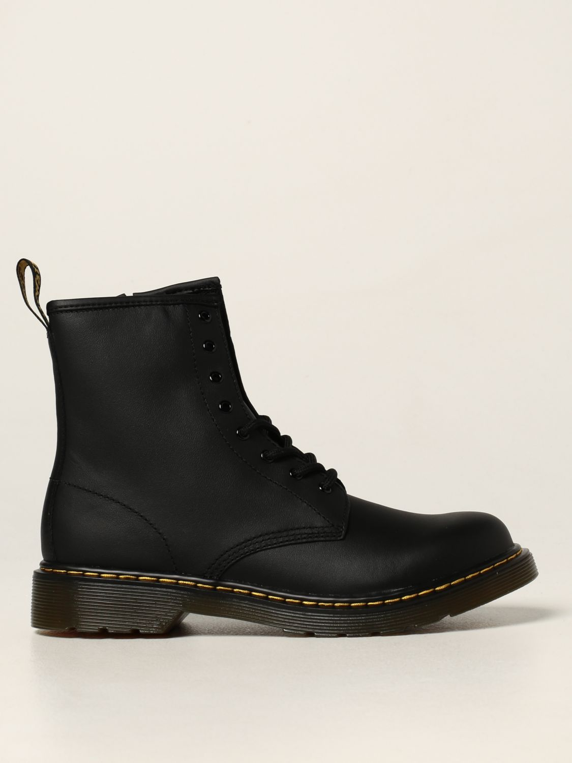 Shoes Dr. Martens: 1460 Y Dr. Martens boots in smooth leather black 1