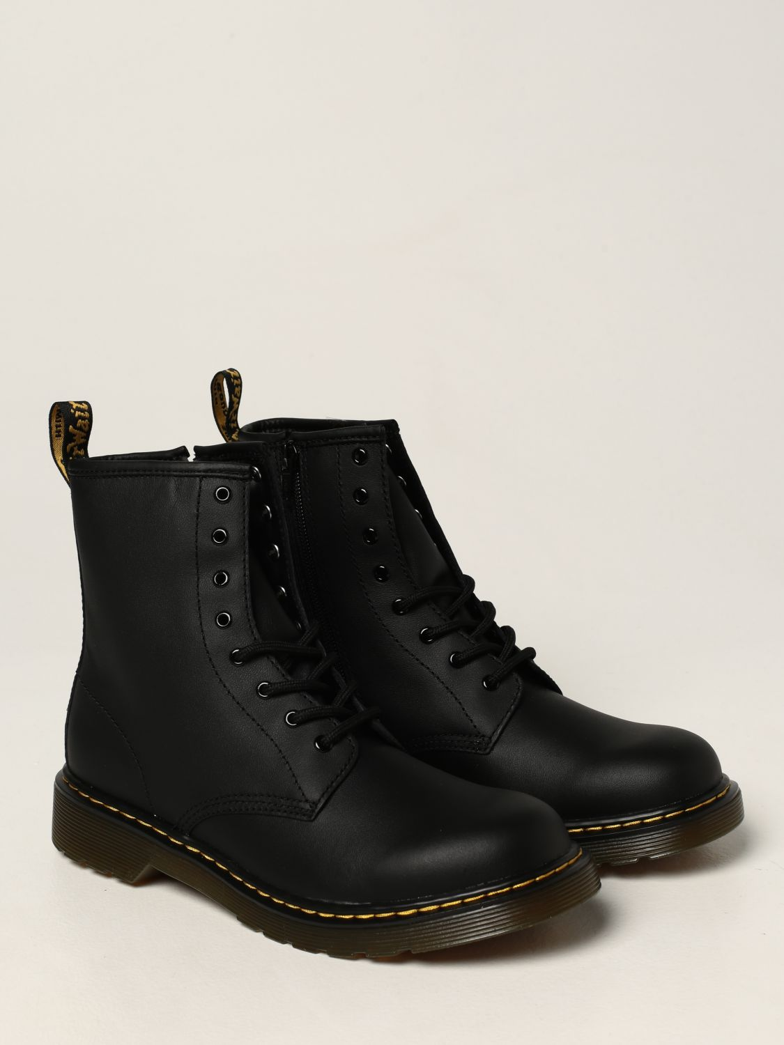 Shoes Dr. Martens: 1460 Y Dr. Martens boots in smooth leather black 2