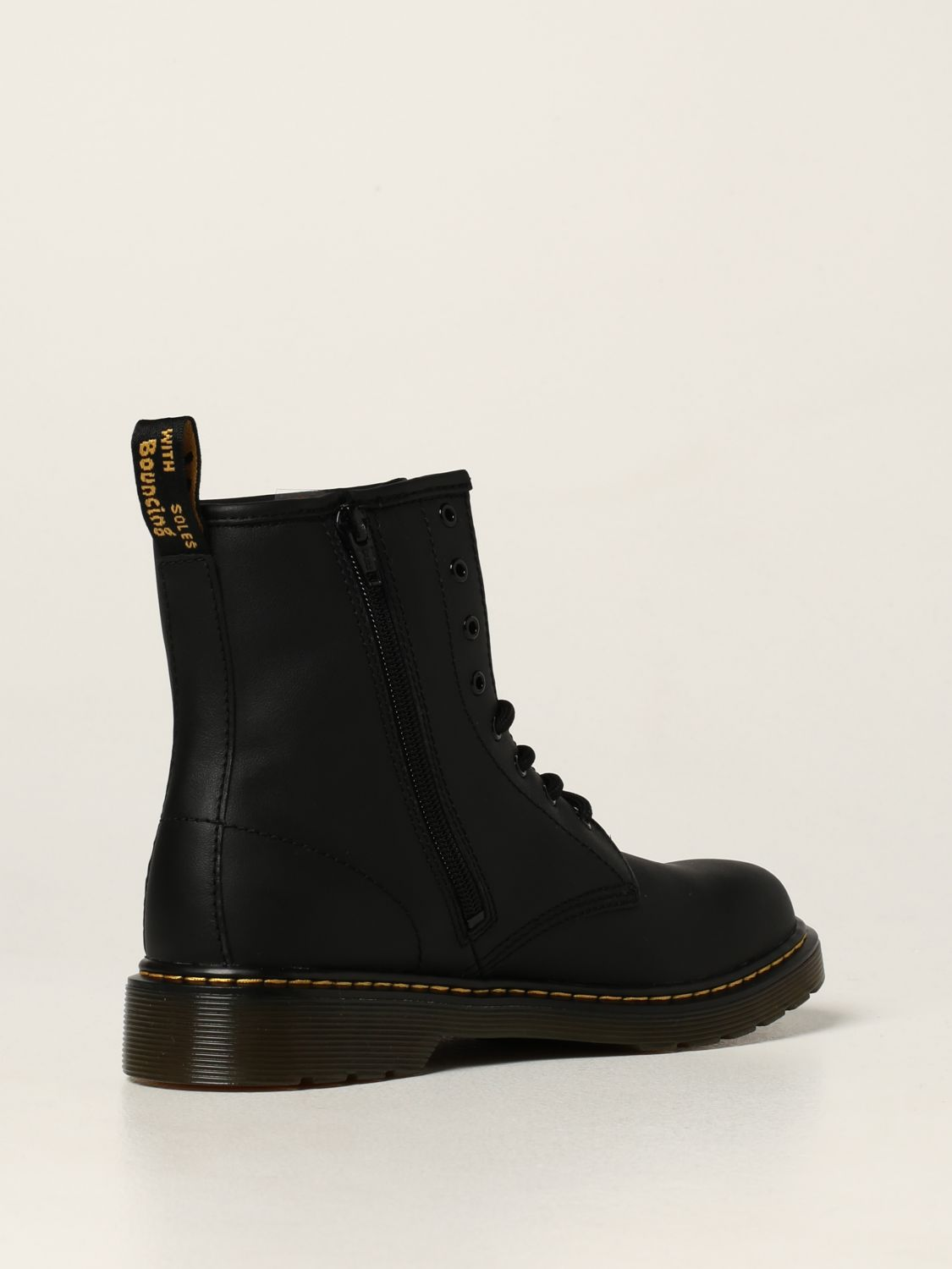Shoes Dr. Martens: 1460 Y Dr. Martens boots in smooth leather black 3