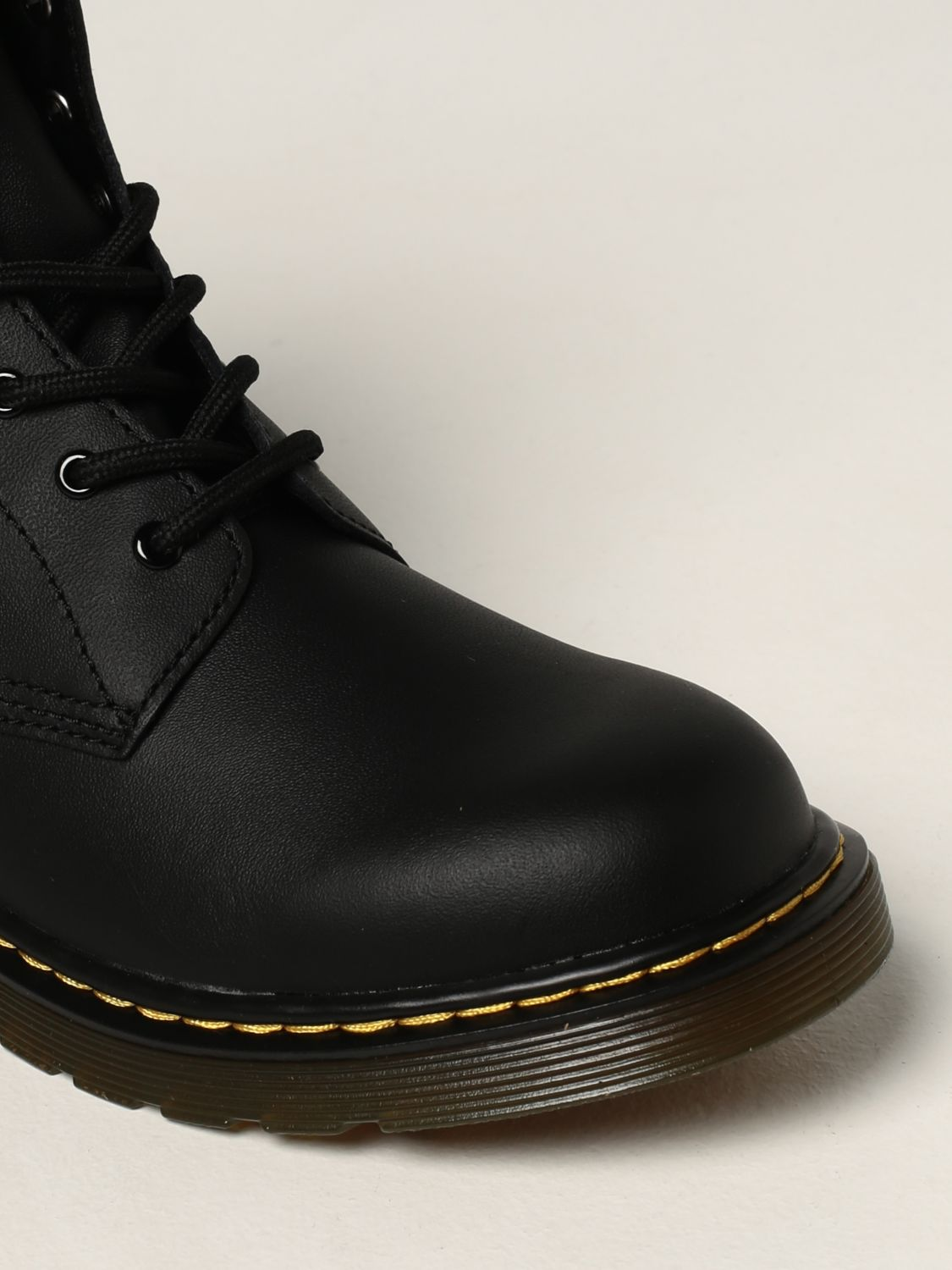 Shoes Dr. Martens: 1460 Y Dr. Martens boots in smooth leather black 4