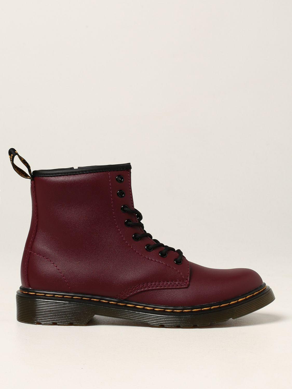 Shoes Dr. Martens: Amphibious 1460 J Dr. Martens in leather burgundy 1