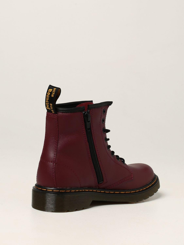 Shoes Dr. Martens: Amphibious 1460 J Dr. Martens in leather burgundy 3