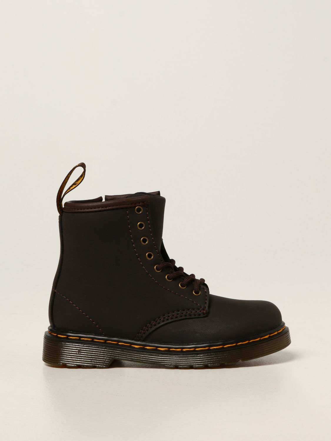 Shoes Dr. Martens: Dr. Martens 1460 T boots in leather brown 1