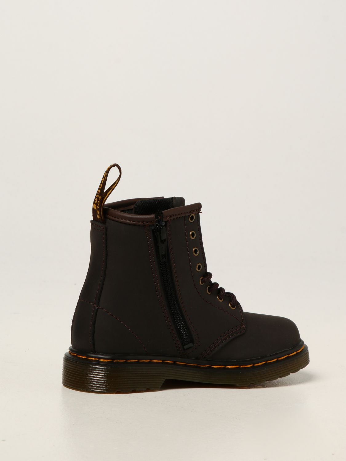 Shoes Dr. Martens: Dr. Martens 1460 T boots in leather brown 3
