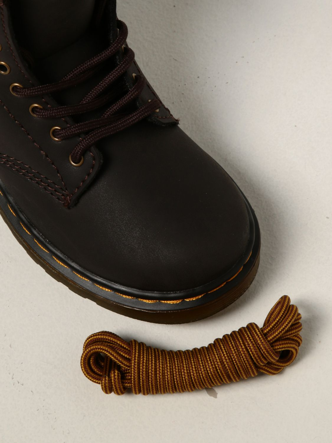 Shoes Dr. Martens: Dr. Martens 1460 T boots in leather brown 4