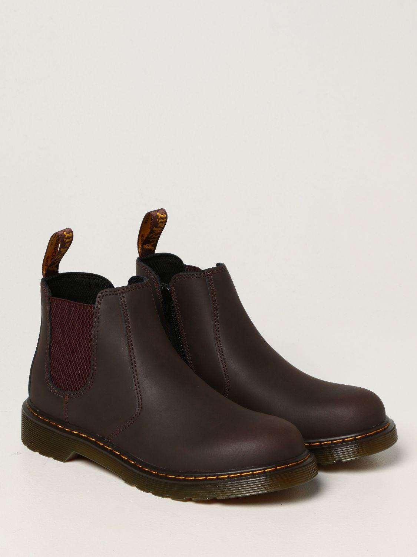 Обувь Dr. Martens: Обувь Детское Dr. Martens коричневый 2