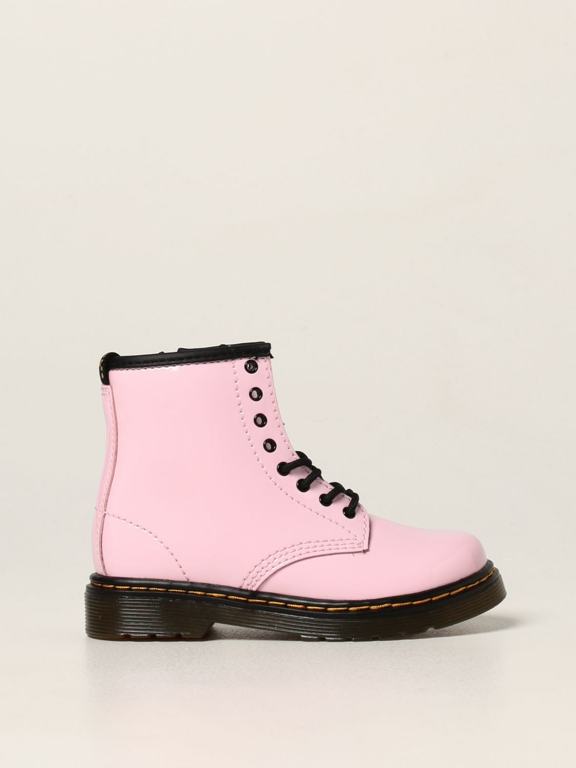 Shoes Dr. Martens: Dr. Martens 1460 T boots in patent leather pink 1