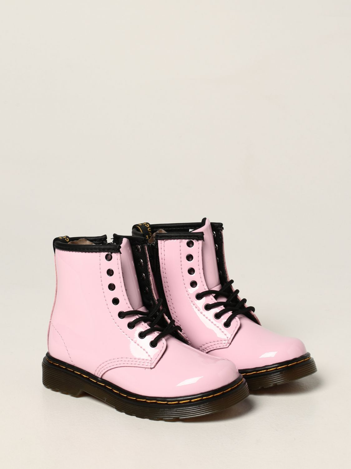 Shoes Dr. Martens: Dr. Martens 1460 T boots in patent leather pink 2
