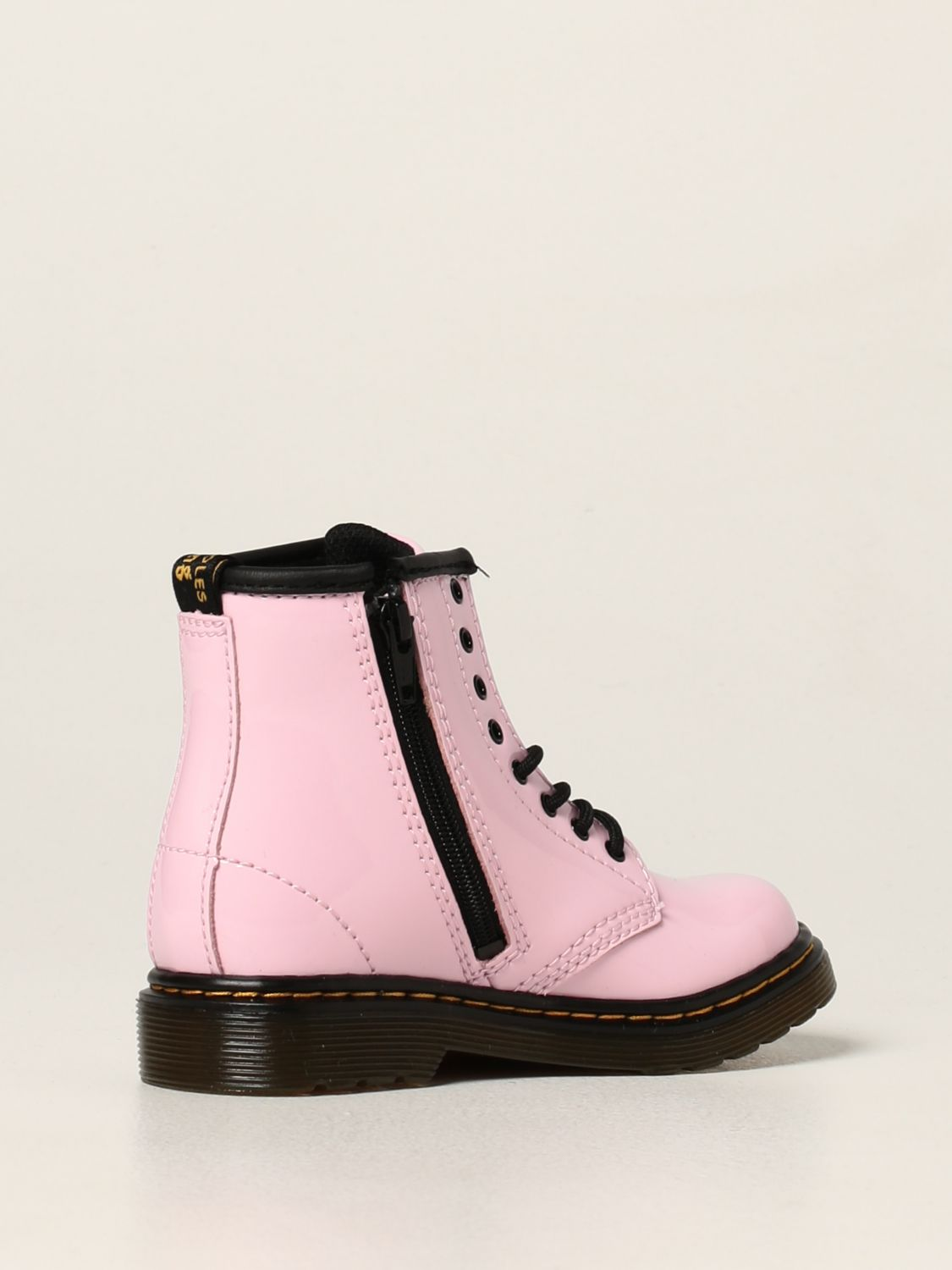 Shoes Dr. Martens: Dr. Martens 1460 T boots in patent leather pink 3