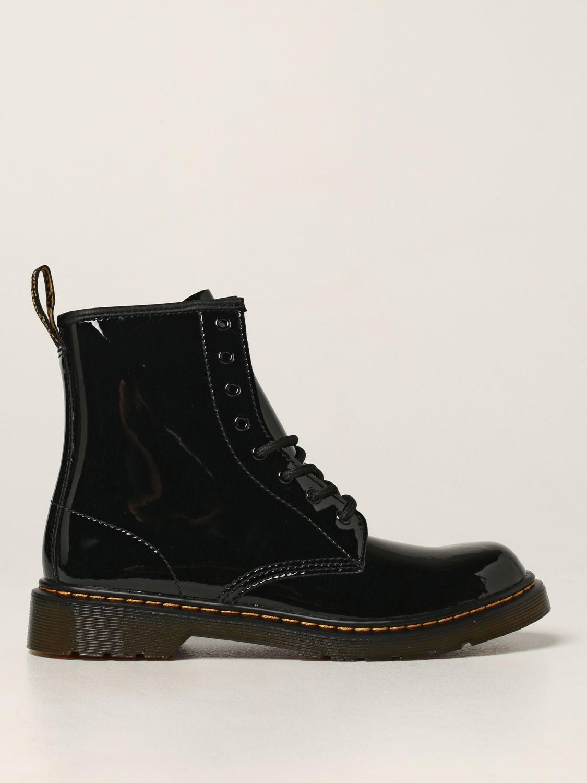 鞋履 Dr. Martens: 鞋履 儿童 Dr. Martens 黑色 1