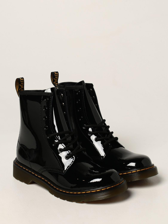 鞋履 Dr. Martens: 鞋履 儿童 Dr. Martens 黑色 2