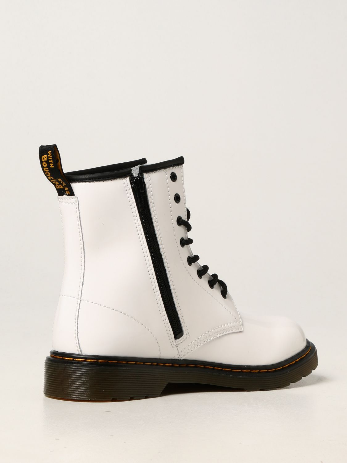 Shoes Dr. Martens: 1460 Dr. Martens ankle boots in patent leather white 3