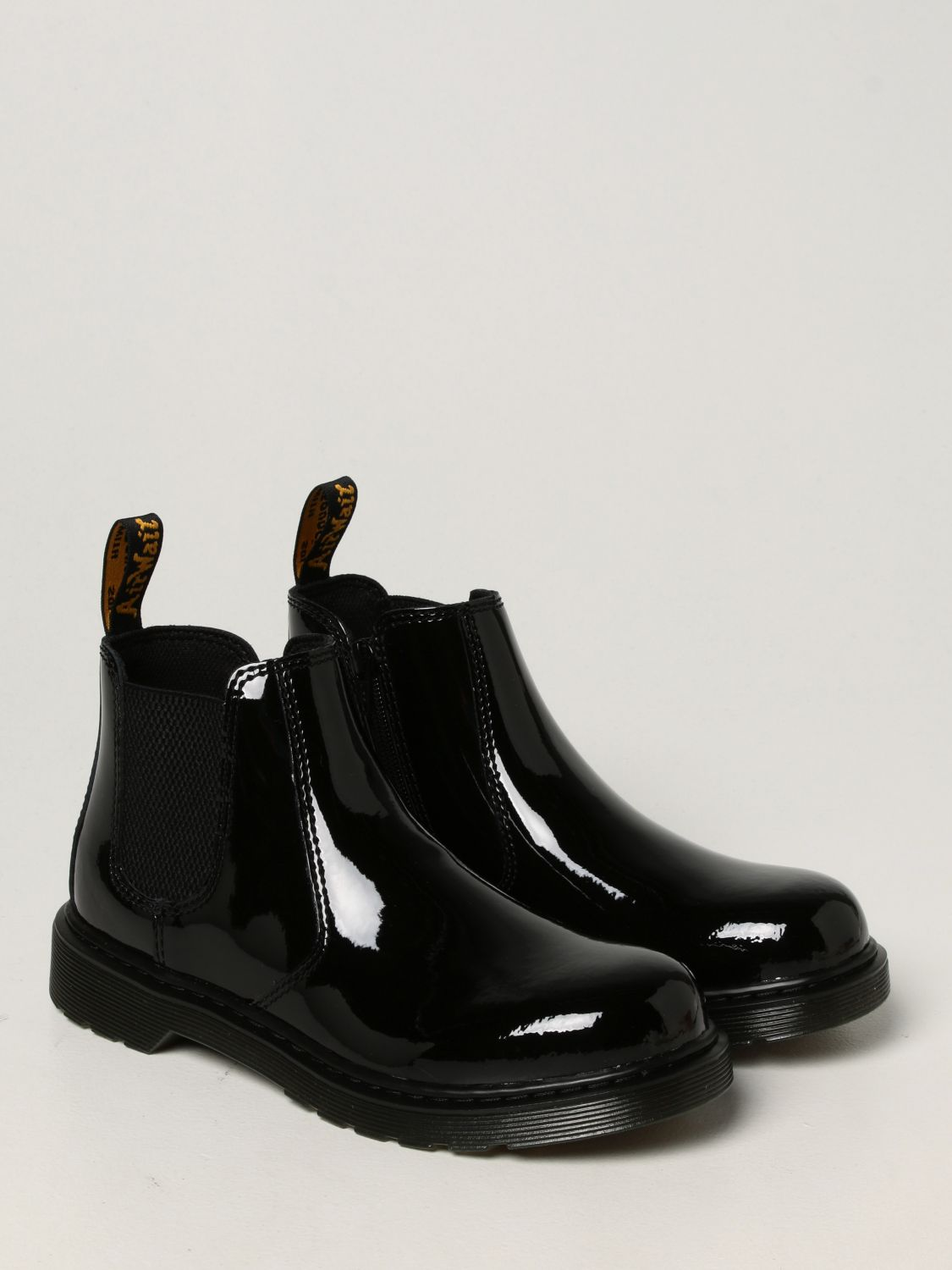 Shoes Dr. Martens: 2976 Y Dr. Martens Chelsea boots in patent leather black 2