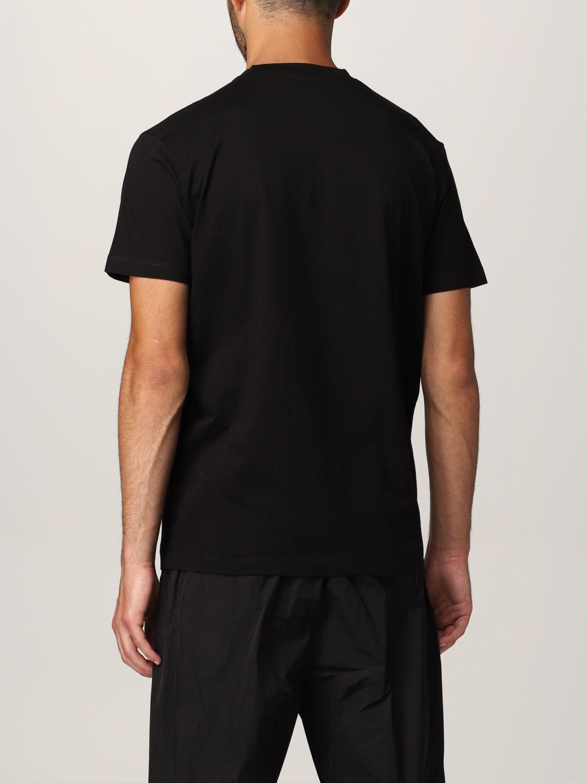 T-shirt Dsquared2: T-shirt Born In Canada Dsquared2 in cotone nero 3