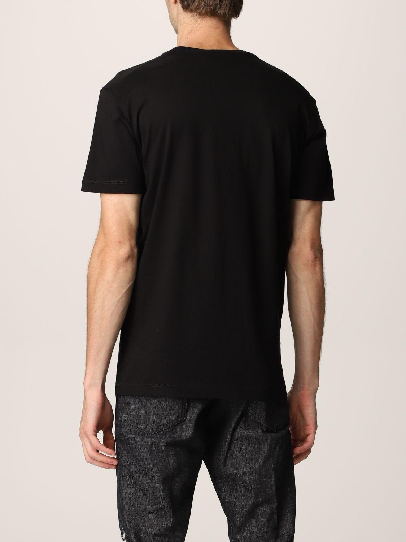 T-shirt Dsquared2: T-shirt Dsquared2 in cotone con logo nero 3