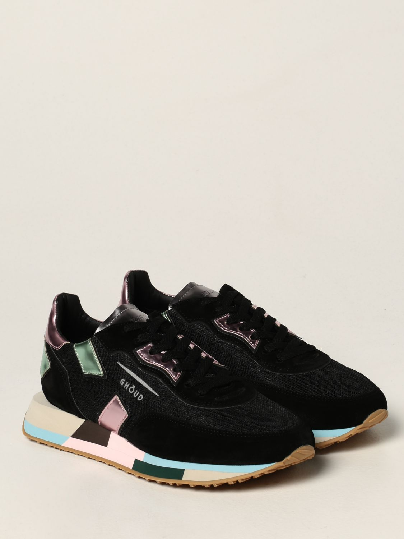 Baskets Ghoud: Chaussures femme Ghoud noir 2
