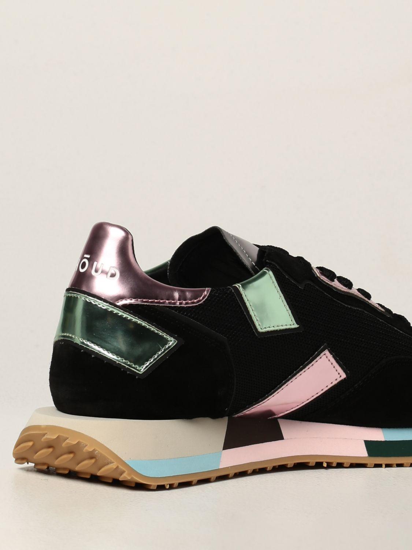 Baskets Ghoud: Chaussures femme Ghoud noir 3