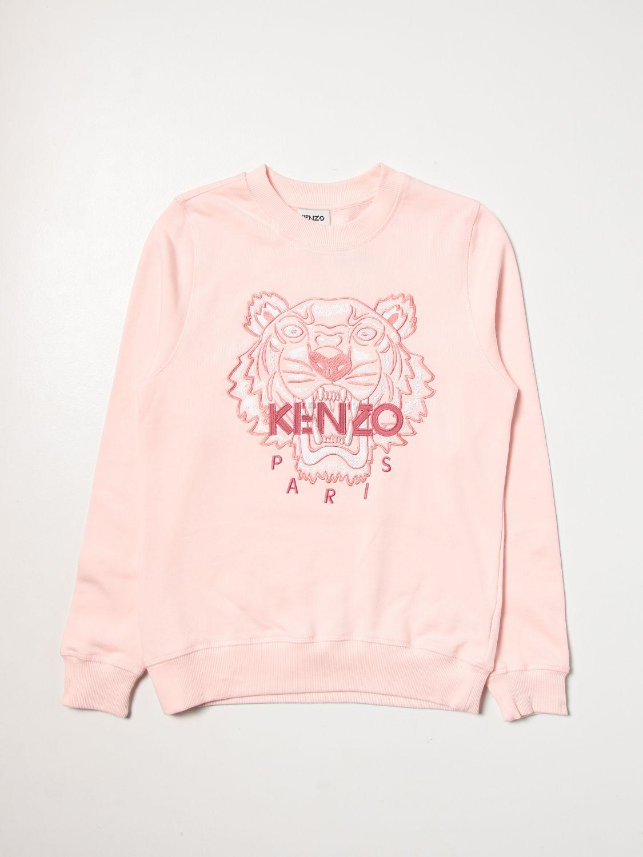 Jumper Kenzo Junior: Jumper kids Kenzo Junior pink 1