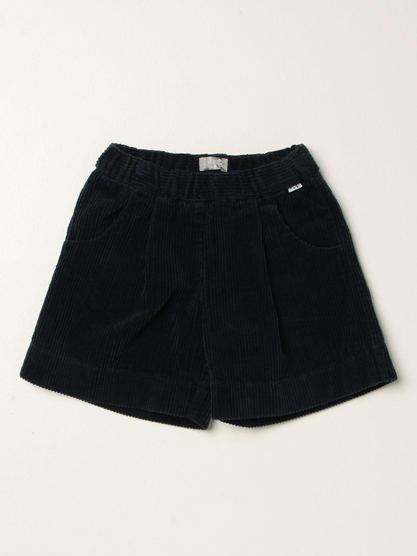 Short Il Gufo: Short kids Il Gufo blue 1