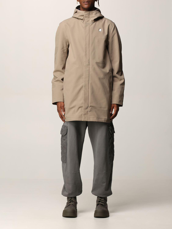 K-way Jacket  Men Color Dove Grey