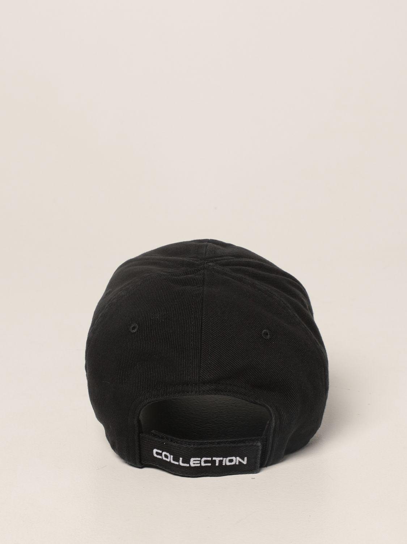 Cappello Balenciaga: Cappello da baseball Balenciaga con logo playstation nero 3