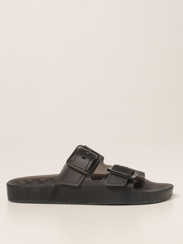 Sandalias planas Balenciaga: Zapatos mujer Balenciaga marrón 1