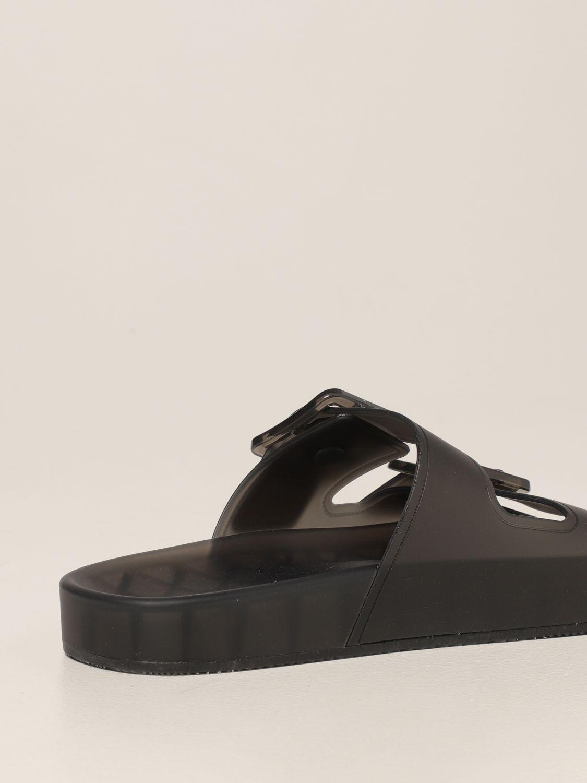 Sandalias planas Balenciaga: Zapatos mujer Balenciaga marrón 3