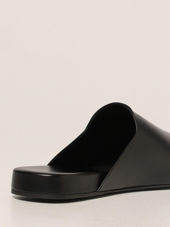 Flat shoes Balenciaga: Cozy Balenciaga leather mule black 3