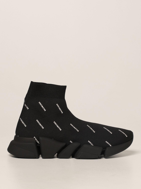 Sneakers Balenciaga: Sneakers Speed 2.0 Balenciaga a calza nero 1
