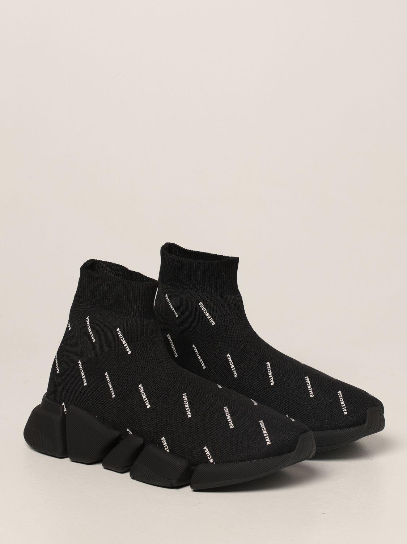 Sneakers Balenciaga: Sneakers Speed 2.0 Balenciaga a calza nero 2