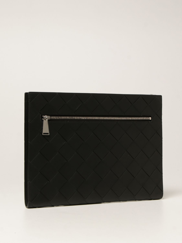 Briefcase Bottega Veneta: Bottega Veneta document holder in 3.0 woven leather black 2