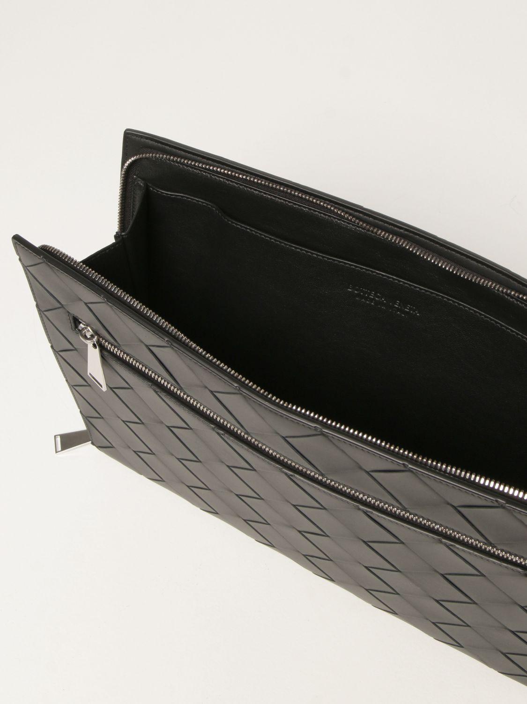 Briefcase Bottega Veneta: Bottega Veneta document holder in 3.0 woven leather black 4