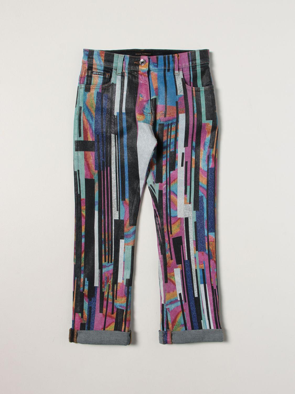 Jeans Dolce & Gabbana: Dolce & Gabbana jeans with brushstrokes denim 1