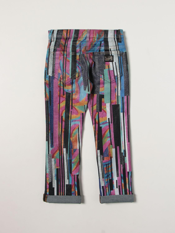 Jeans Dolce & Gabbana: Dolce & Gabbana jeans with brushstrokes denim 2