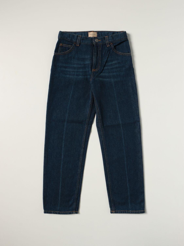 Jeans Gucci: Jeans Freya Hartas Gucci a 5 tasche denim 1