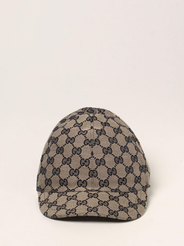 Cappello bambino Gucci: Cappello da baseball Gucci con motivo GG Supreme blue 2