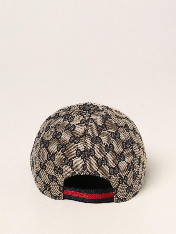Cappello bambino Gucci: Cappello da baseball Gucci con motivo GG Supreme blue 3