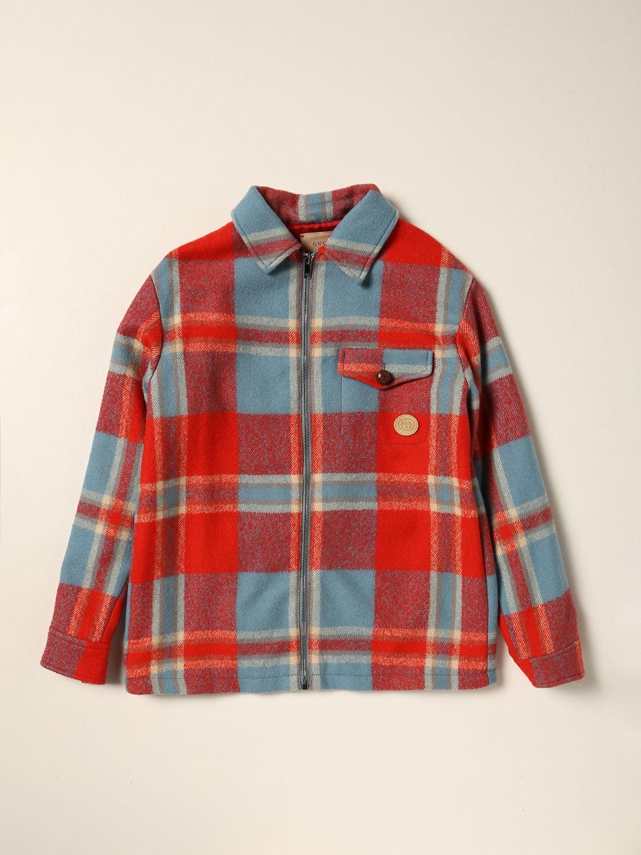Куртка Gucci: Блейзер Детское Gucci красный 1