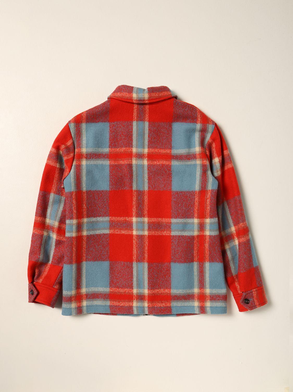 Куртка Gucci: Блейзер Детское Gucci красный 2